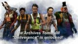 Dead By Daylight| Archives Tome VIII Deliverance is unlocked! New Rift! New Challenges!